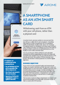 smartphone as atm smartcard
