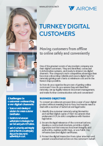 turnkey digital customers